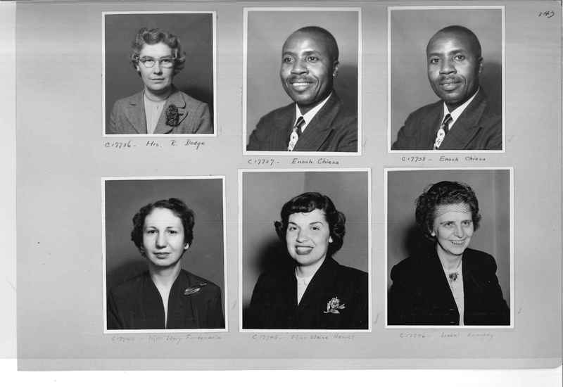 Mission Photograph Album - Portraits #07 Page 0143