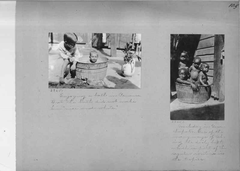 Mission Photograph Album - Panama #02 page 0105