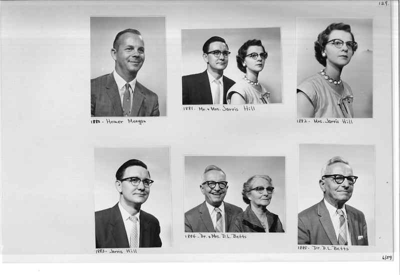 Mission Photograph Album - Portraits #11 Page 0129