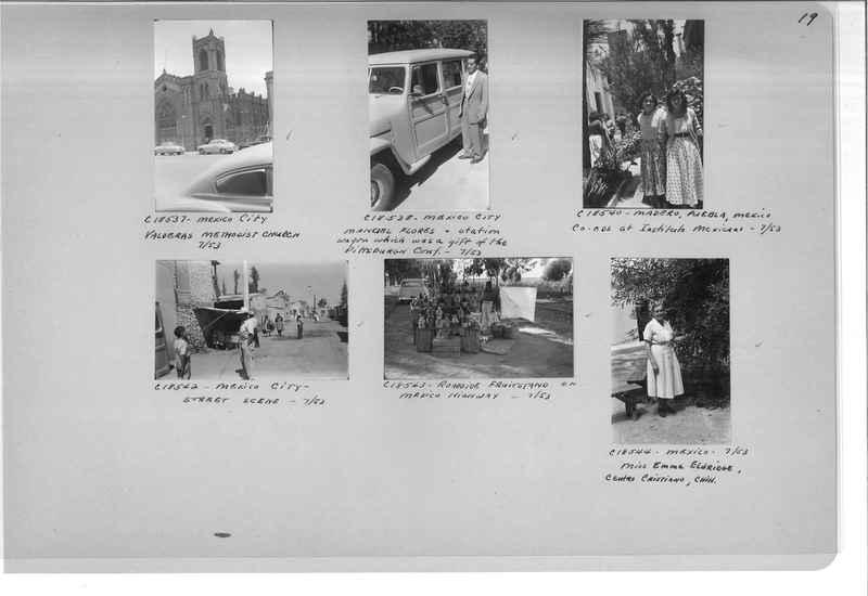 Mission Photograph Album - Mexico #09 Page 0019