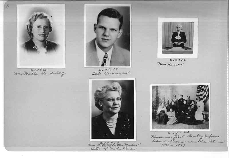 Mission Photograph Album - Portraits #07 Page 0010