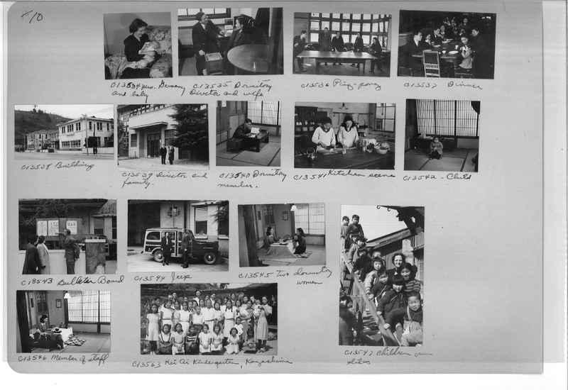 Mission Photograph Album - Japan #07 Page 0010