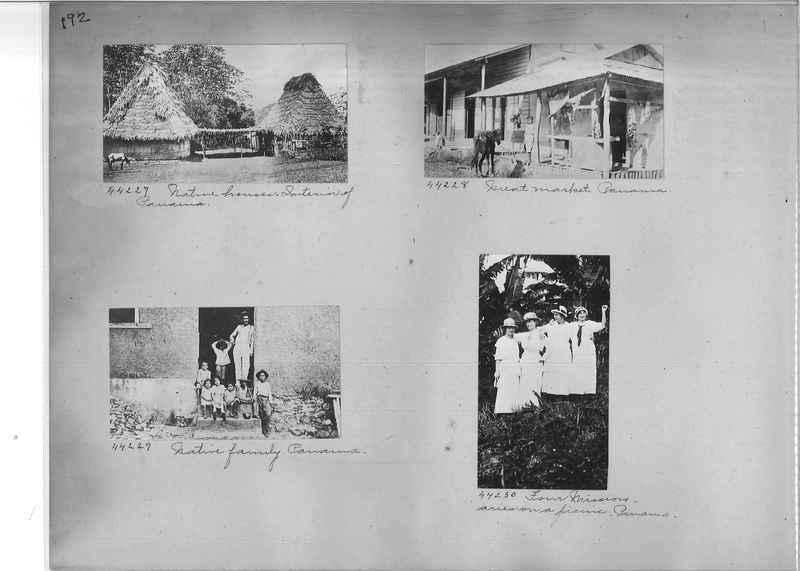 Mission Photograph Album - Panama #02 page 0192
