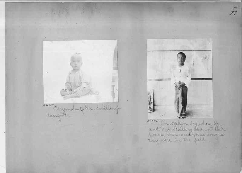 Mission Photograph Album - Burma #1 page 0027