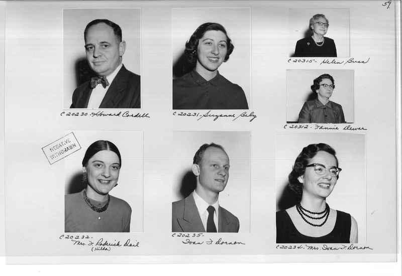 Mission Photograph Album - Portraits #09 Page 0059
