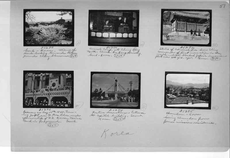 Mission Photograph Album - Korea #6 page 0051