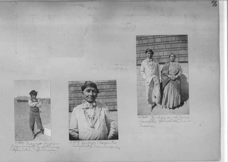 Mission Photograph Album - Indians #2 page_0053