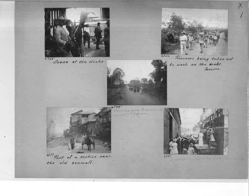 Mission Photograph Album - Panama #1 page  0001