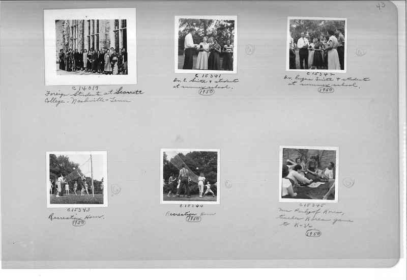 Mission Photograph Album - Portraits #13 Page 0043