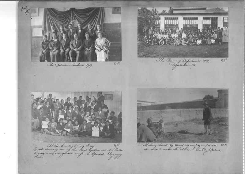 Mission Photograph Album - South America O.P. #1 page 0144