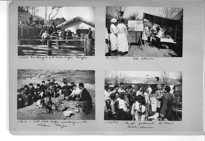Mission Photograph Album - Korea #6 page 0010
