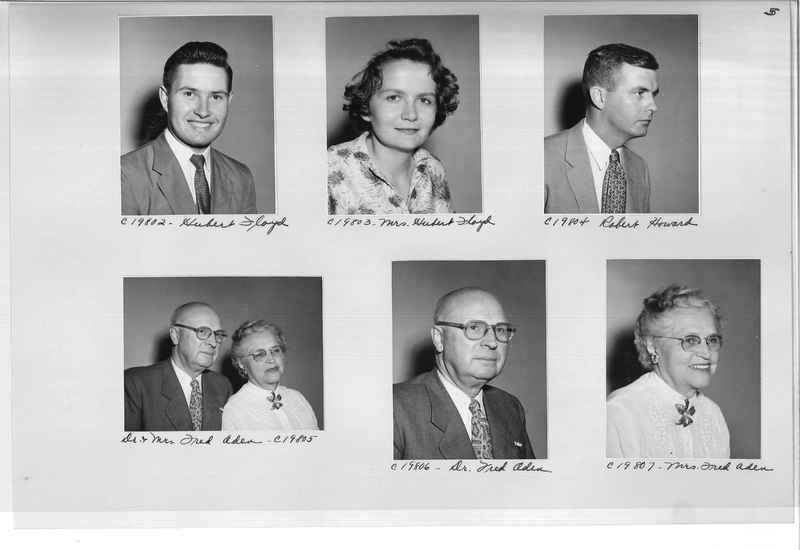 Mission Photograph Album - Portraits #09 Page 0005
