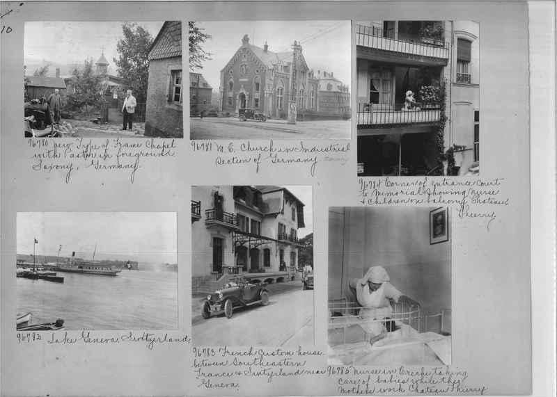 Mission Photograph Album - Europe #09 Page 0010
