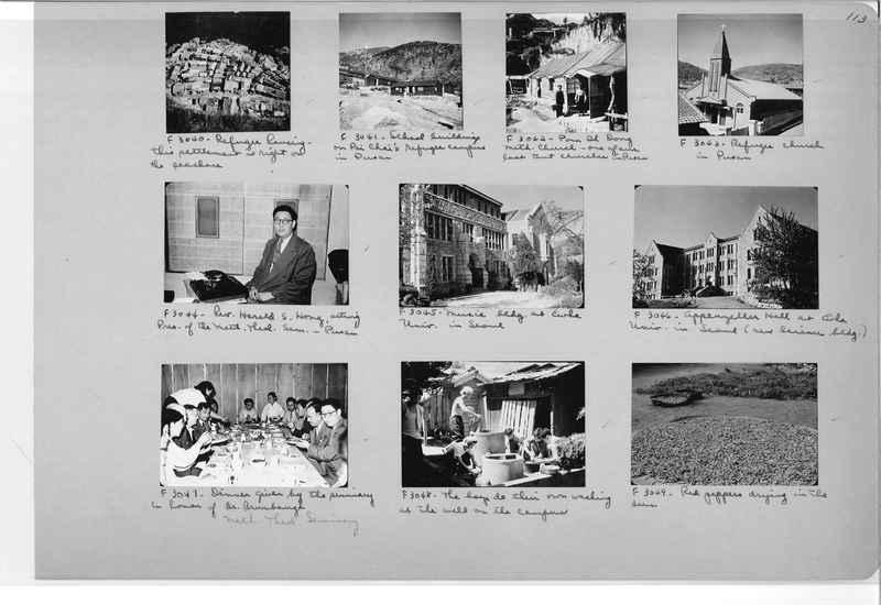 Mission Photograph Album - Korea #6 page 0113