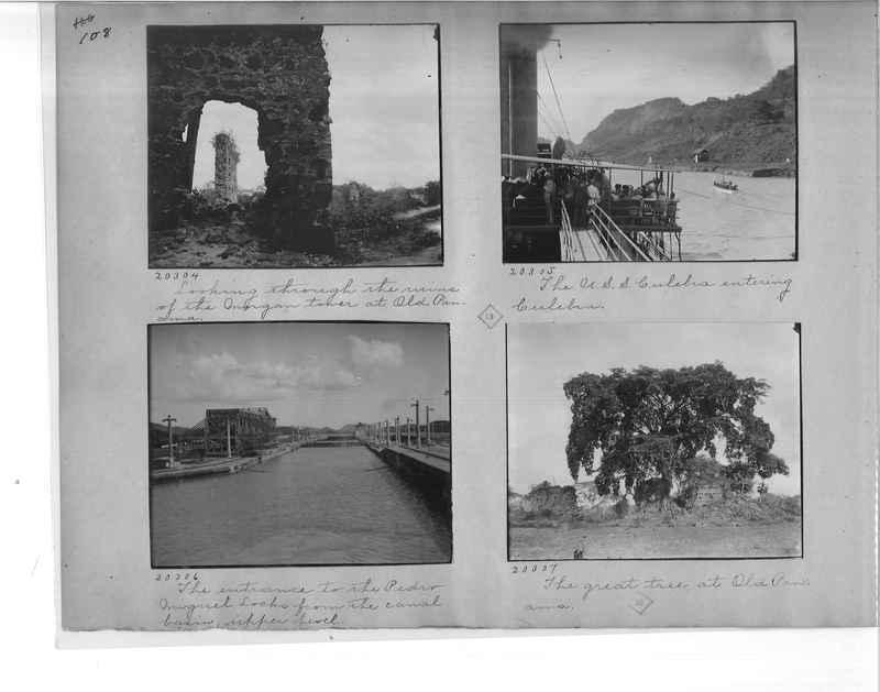 Mission Photograph Album - Panama #1 page  0108