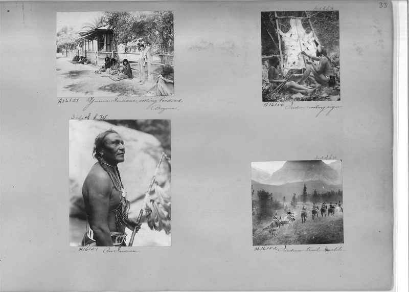 Mission Photograph Album - Indians #2 page_0033