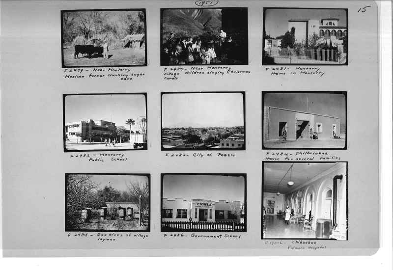 Mission Photograph Album - Mexico #09 Page 0015