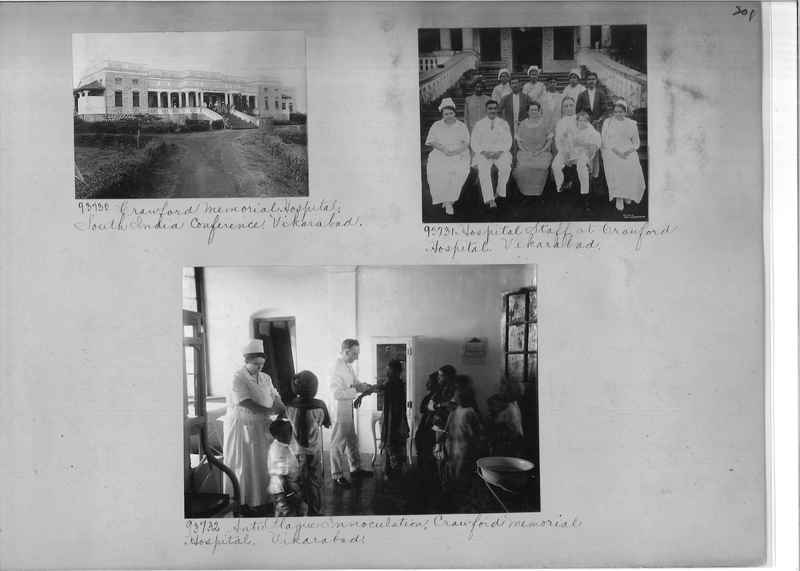 Mission Photograph Album - India #10 Page 0201