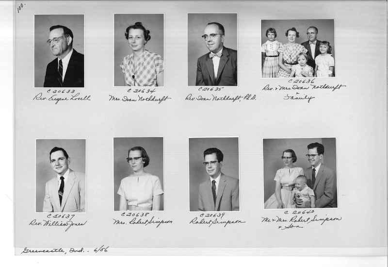 Mission Photograph Album - Portraits #09 Page 0100