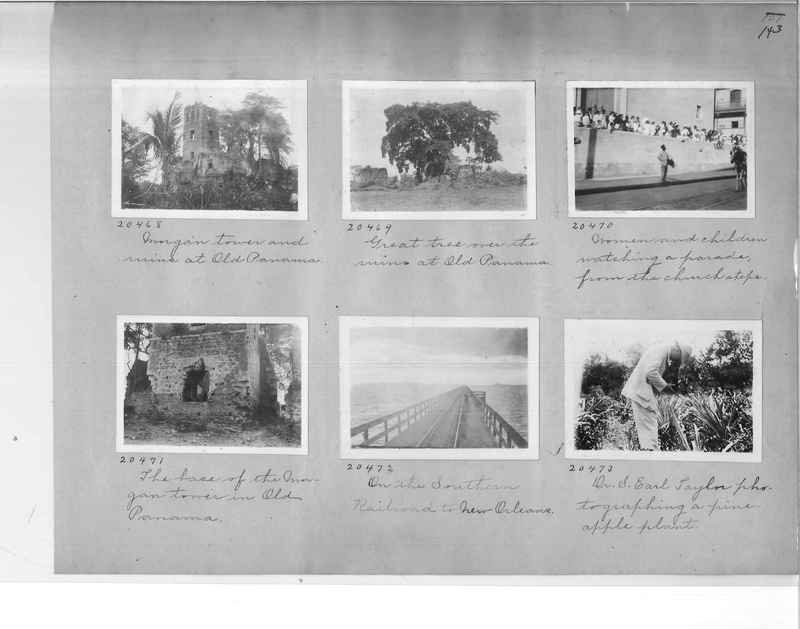 Mission Photograph Album - Panama #1 page  0143