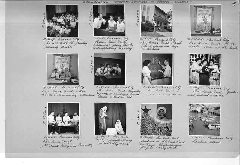 Mission Photograph Album - Panama #05 page 0005