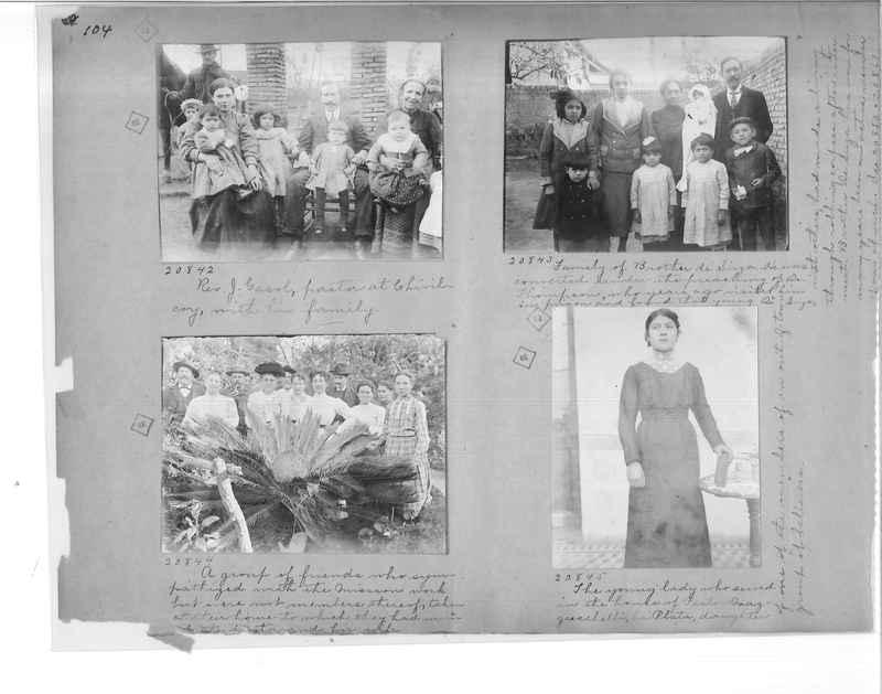 Mission Photograph Album - Panama #1 page  0104
