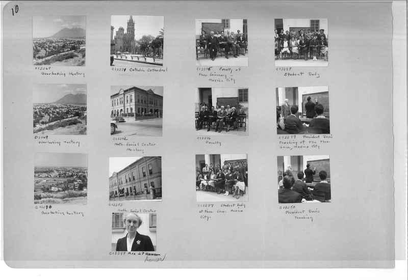 Mission Photograph Album - Mexico #09 Page 0010