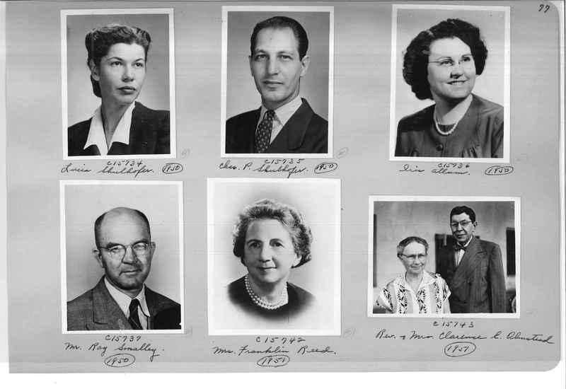Mission Photograph Album - Portraits #07 Page 0077