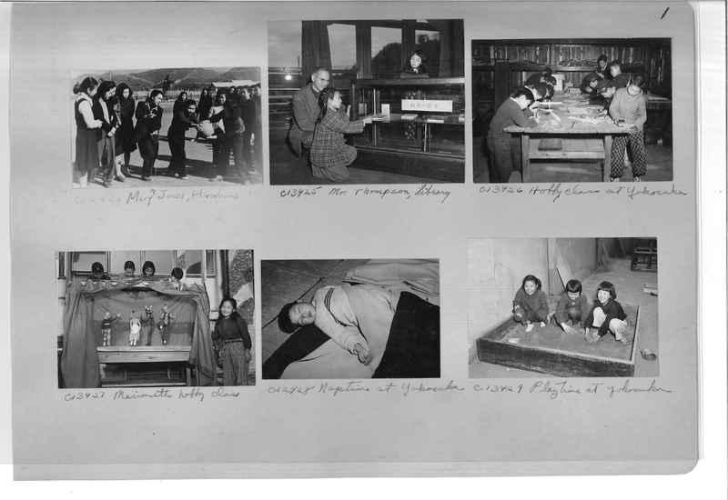 Mission Photograph Album - Japan #07 Page 0001