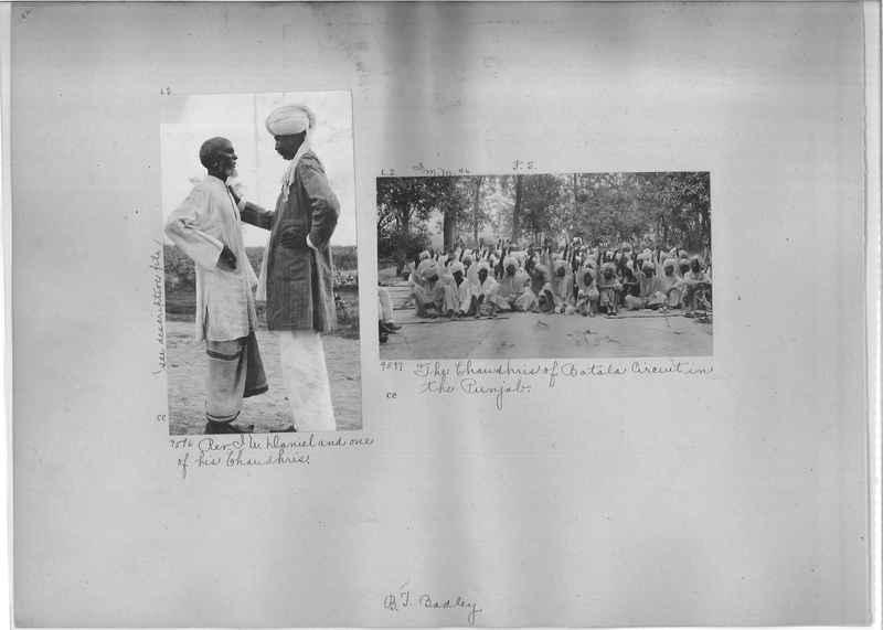 Mission Photograph Album - India #01 page 0182