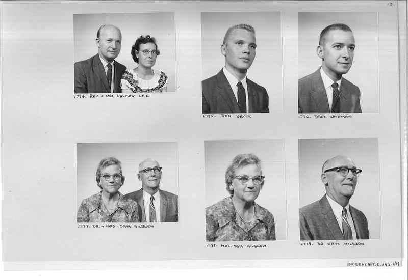 Mission Photograph Album - Portraits #12 Page 0013