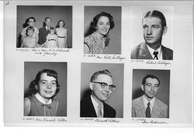 Mission Photograph Album - Portraits #09 Page 0034