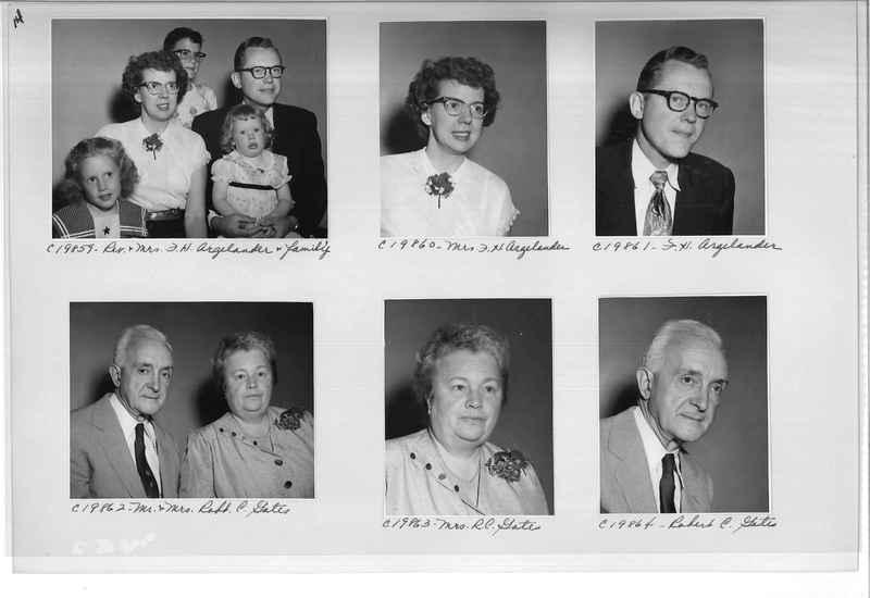 Mission Photograph Album - Portraits #09 Page 0014