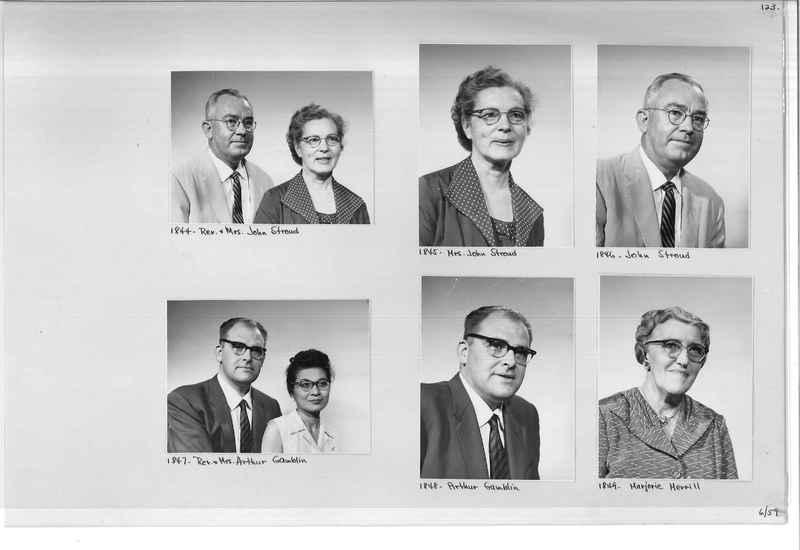 Mission Photograph Album - Portraits #11 Page 0123