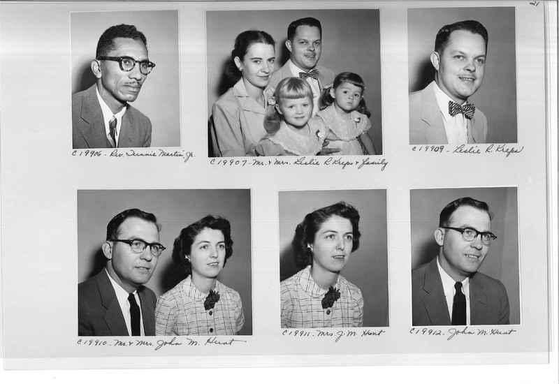 Mission Photograph Album - Portraits #09 Page 0021