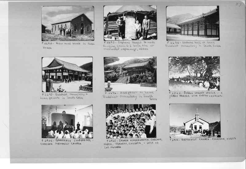 Mission Photograph Album - Korea #6 page 0089