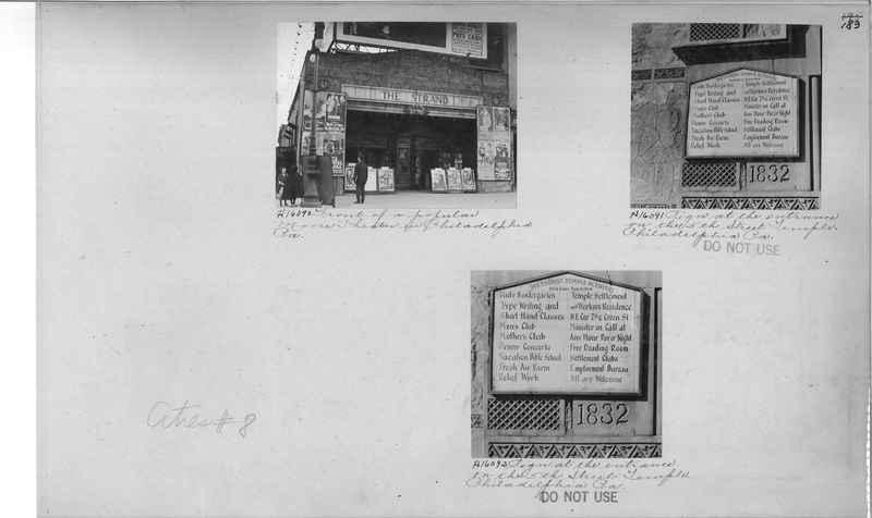 Mission Photograph Album - Cities #8 page 0183