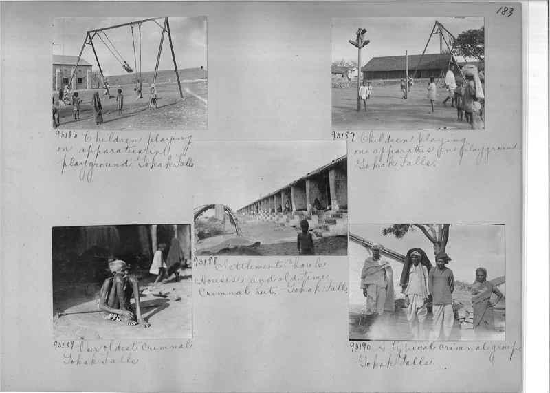 Mission Photograph Album - India #10 Page 0183