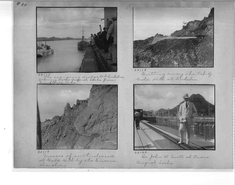 Mission Photograph Album - Panama #1 page  0080