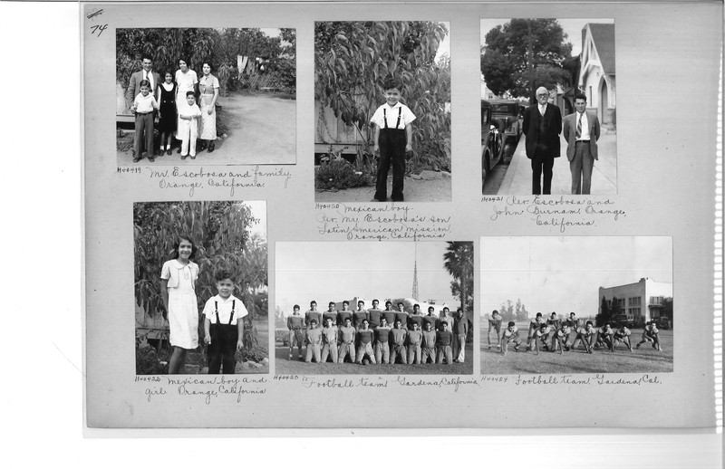 Mission Photograph Album - Latin America #2 page 0074