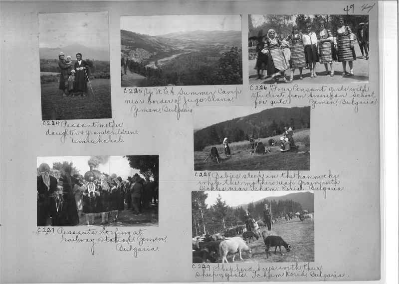 Mission Photograph Album - Europe #09 Page 0049