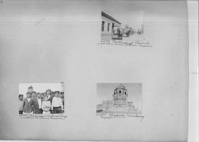 Mission Photograph Album - Mexico #04 page 0002