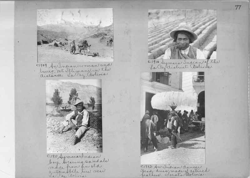Misson Photograph Album - South America #8 page 0077