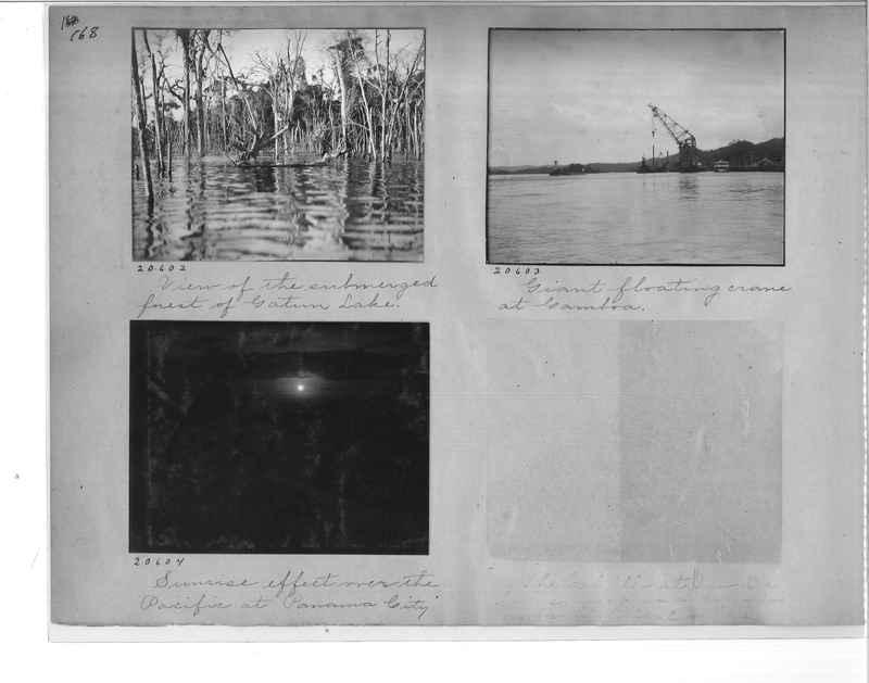 Mission Photograph Album - Panama #1 page  0168
