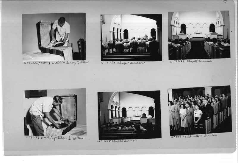 Mission Photograph Album - Portraits #13 Page 0033
