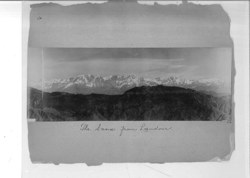 Mission Photograph Album - India - O.P. #02 Page 0012