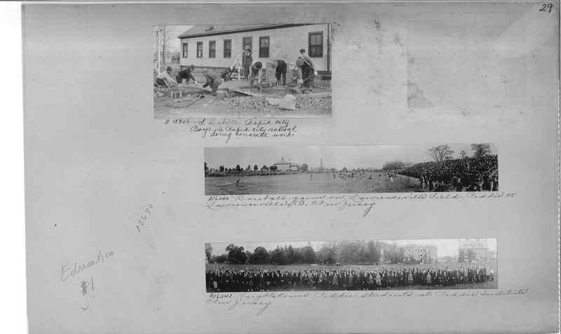 Mission Photograph Album - Education #1 page 0029