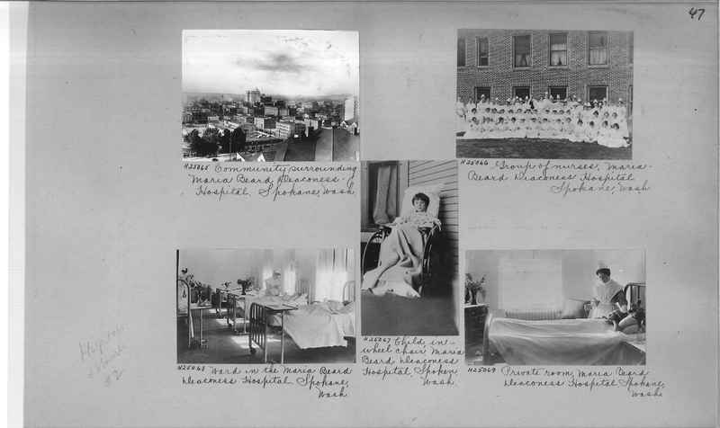 Mission Photograph Album - Hospitals and Homes #2 page 0047