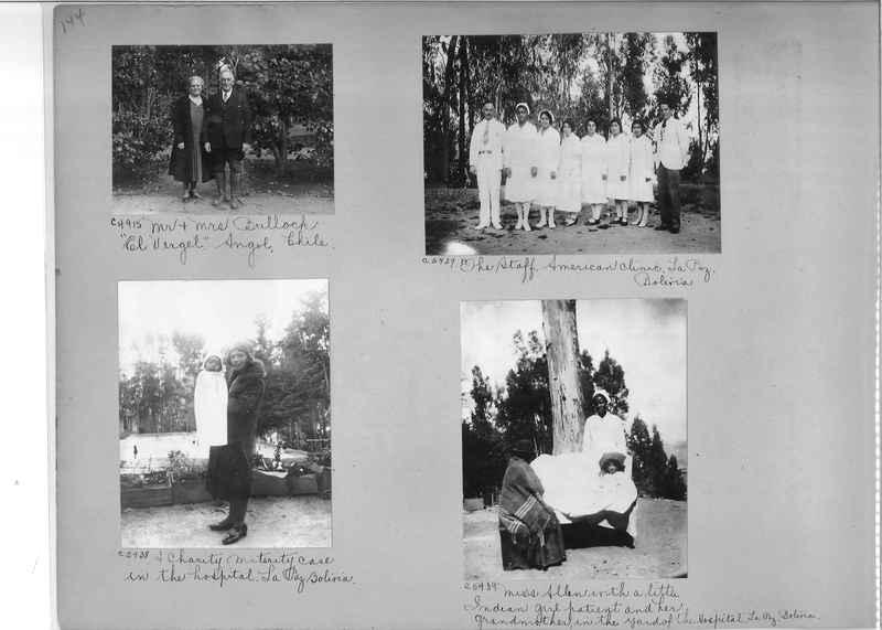 Misson Photograph Album - South America #8 page 0144