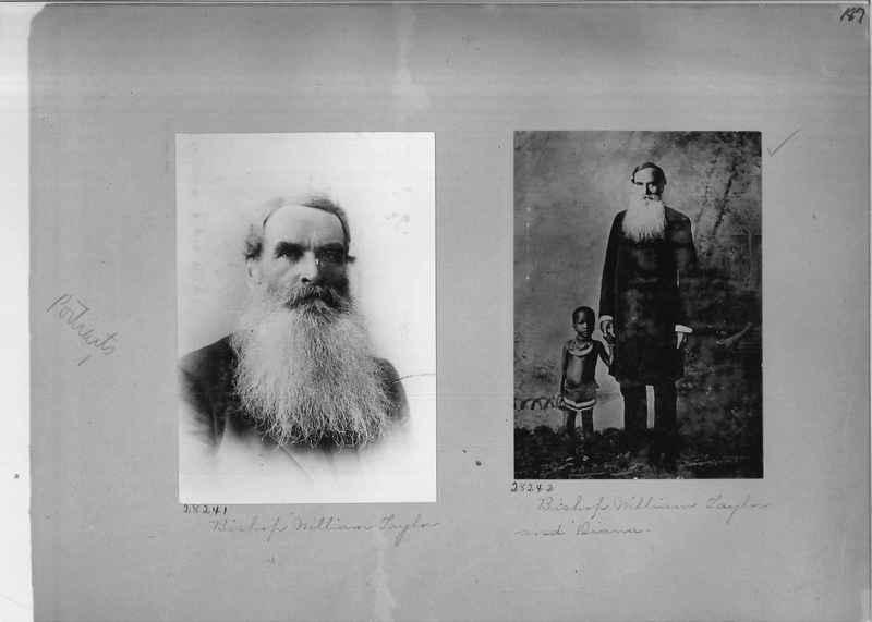Mission Photograph Album - Portraits #1 page 0187